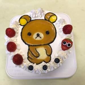 #リラックマ #キャラクターケーキ